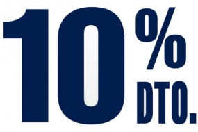 10% de descuento para desempleados