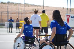 ITV Rivas patrocina el Open de Tenis en silla de ruedas