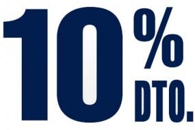 10% de descuento o Bono VIP