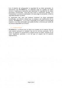 ITV RIVAS AVISO LEGAL y POLITICA DE PRIVACIDAD03
